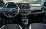 Hyundai i10 2020 first drive review - dashboard