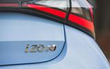9 Hyundai i20 N 2021 UK first drive review rear badge
