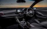 Hyundai i30 Fastback N 2019 UK first drive review - cabin