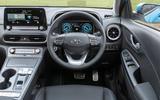 9 Hyundai Kona Electric 2021 UK first drive review dashboard