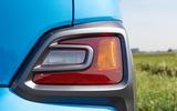 Hyundai Kona Hybrid 2019 first drive review - rear indicators