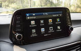Hyundai Tucson 2.0 CRDI 48v 2018 first drive review infotainment