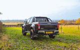 Isuzu D-Max Arctic Trucks 2020 UK first drive review - static rear
