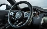 9 Jaguar E Pace P300e 2021 uk first drive review steeringh wheel