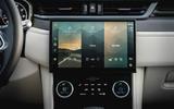 9 Jaguar F Pace SVR 2021 UK first drive review infotainment