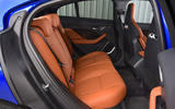 Jaguar I-Pace EV400 UK first drive review rear seats