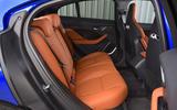 Jaguar I-Pace EV400 UK first drive review rear seats