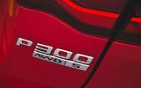 Jaguar XE P300 2019 first drive review - rear badge