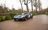 Jannarelly Design-1 2020 UK first drive review - on the road front