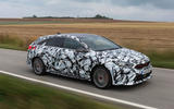 Kia Proceed GT 2018 prototype drive on the road right