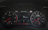 Kia Stinger 2.2 CRDi 2018 UK review instrument cluster