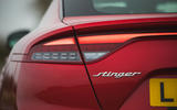 9 Kia Stinger GT S 2021 UK review rear lights