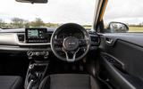 9 Kia Stonic 48v 2021 UK first drive review dashboard