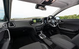 Kia Xceed plug-in hybrid 2020 UK first drive review - cabin
