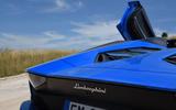 Lamborghini Aventador S 2018 first drive review rear end