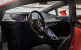 Lamborghini Huracan Evo 2019 first drive review - dashboard