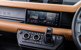 Land Rover Defender 90 P400 X 2020 UK first drive review - infotainment