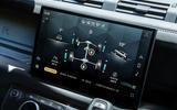 9 Land Rover Defender V8 2021 UK FD infotainment