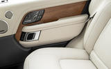 Land Rover Range Rover D350 mild hybrid 2020 UK first drive review - door cards
