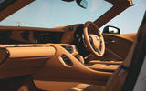 Lexus LC Convertible 2020 UK first drive review - cabin