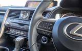 Lexus RX 450hL 2018 review wheel controls left