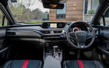 Lexus UX 2019 UK first drive review - dashboard