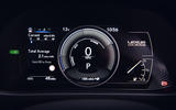 9 Lexus UX300e 2021 UK first drive review instruments