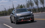 Lynk & Co prototype on the road