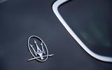 Maserati Levante GranSport V6 2018 first drive - rear arch badge