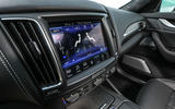 Maserati Levante Gransport 2018 UK first drive review infotainment