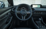 Mazda 3 2019 European first drive review - steering wheel