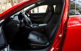 Mazda 3 2.0 Skyactiv-G 2019 first drive review - cabin