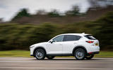 9 Mazda CX 5 2021 UK first drive review on road side