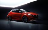 Mazda Yaris render