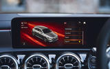 Mercedes-AMG A35 2019 UK first drive review - infotainment