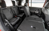 Mercedes-AMG GLB 35 2020 first drive review - rear seats