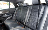 Mercedes-AMG GLE 53 2020 first drive review - rear seats