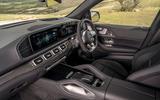 9 Mercedes AMG GLE 63S 2021 UK FD instruments
