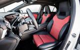 Mercedes-Benz A-Class A180D cabin