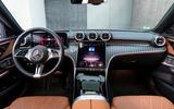 9 Mercedes Benz C Class 2021 FD dashboard