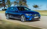 Mercedes-Benz C-Class C 300de estate 2018 first drive review - on the road