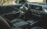9 Mercedes Benz EQA 2021 UK first drive review dashboard