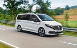 9 Mercedes Benz EQV 2021 LHD first drive review cornering