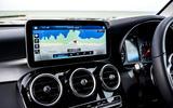 Mercedes-Benz GLC 220d 2019 UK first drive review - navigation
