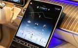 Mercedes-Benz S-Class S500 2020 first drive review - infotainment