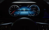 Mercedes-Benz CLA Shooting Brake 220d 2020 UK first drive review - instruments