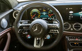 Mercedes-AMG E63 S Estate 2020 first drive review - steering wheel