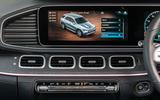 Mercedes-Benz GLE 400d 2019 UK first drive review - infotainment