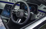 9 Mercedes S Class S400d 2021 UK FD dashboard