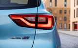 MG ZS EV 2019 UK first drive review - rear lights